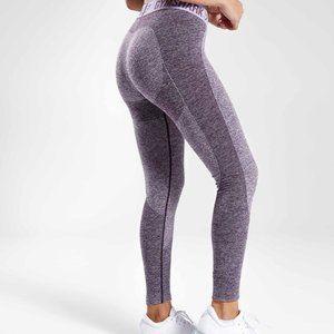 Flex legging V3 rich purple marl / pastel lilac S